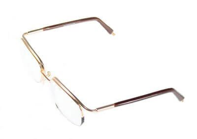 Non-Hinged Half Rim Frame 4820/3008 Shaded Gold