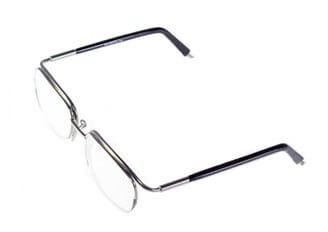 Non-Hinged Half Rim Frame 5117/3049 Dark Coffee