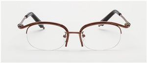 Half Rim 4818/3049 Dark Coffee