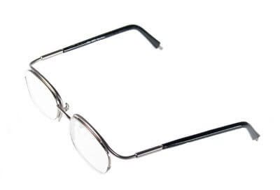 Non-Hinged Half Rim Frame 4820/3049 Dark Coffee